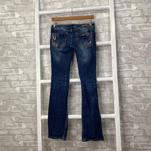Express Barely Boot Ultra Low Rise Jeans Size 4